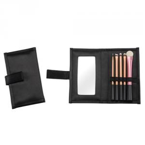PF0192 5-pc make up brush set w/ cosmetic bag