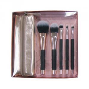 8320 5-pc make up brush w/ bag set