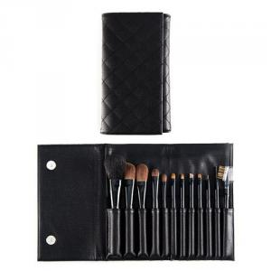 PF0082TY-12P 12-pc make up brush set w/pouch